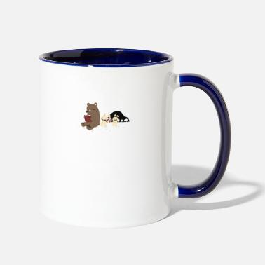 Fun fun dude fun - Two-Tone Mug