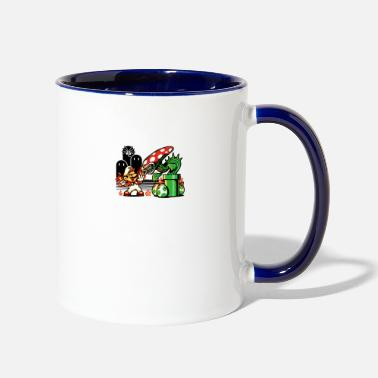 Game Over Game Over Man Game Over - Two-Tone Mug