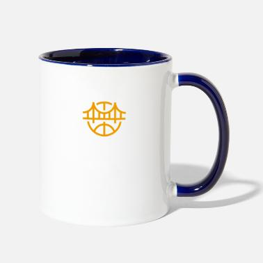 State Golden State Basketball - Contrast Coffee Mug