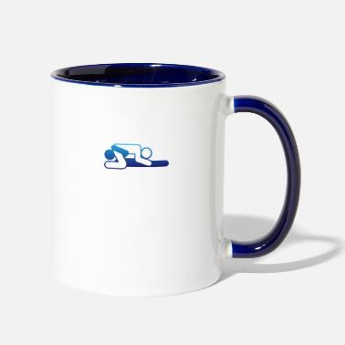 Sexual A Couple In 69 Position - Two-Tone Mug