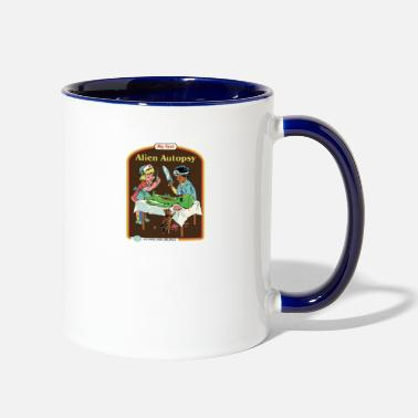 Smiffys my first alien autopsy - Two-Tone Mug
