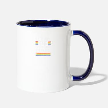 Communism Perfectly Queer Funny Gay Pride Parade LGBTQ Party - Two-Tone Mug