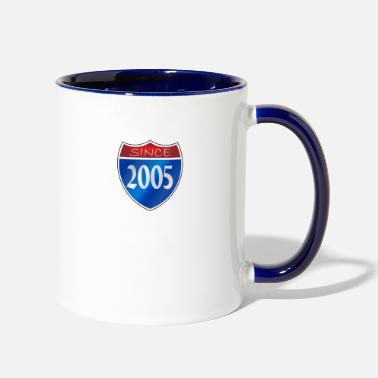 Since Since 2005 - Contrast Coffee Mug