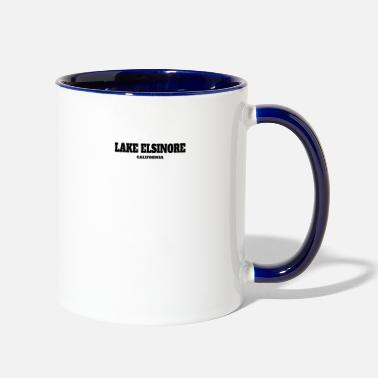 Elsinore CALIFORNIA LAKE ELSINORE US EDITION - Two-Tone Mug