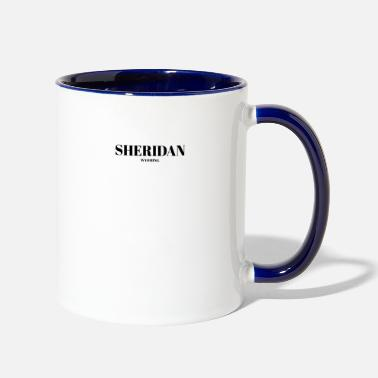 WYOMING SHERIDAN US DESIGNER EDITION - Two-Tone Mug