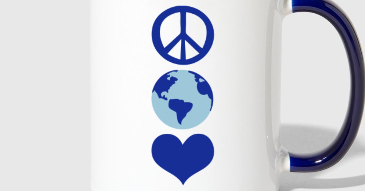 Peace Love Earth Day By Mycastillo Spreadshirt