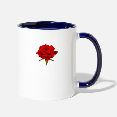 Rose rose - Contrast Coffee Mug