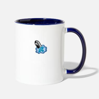 Graphic Art Rocket Cannon Graphic Art - Contrast Coffee Mug