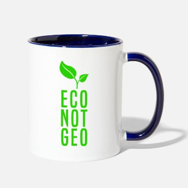 Eco ECO NOT GEO - Two-Tone Mug
