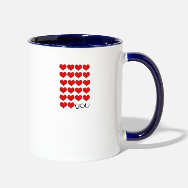 Love You love love YOU - Two-Tone Mug
