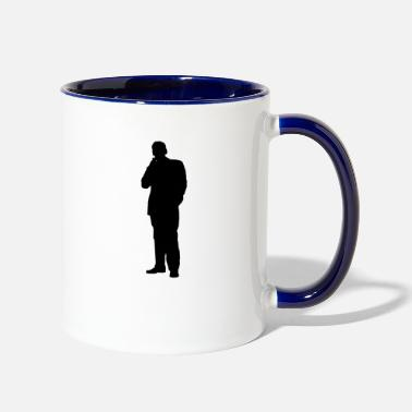 businessman geschaeftsmann business money92 - Two-Tone Mug