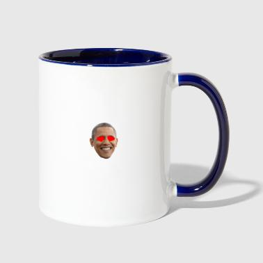 Obama - Contrast Coffee Mug
