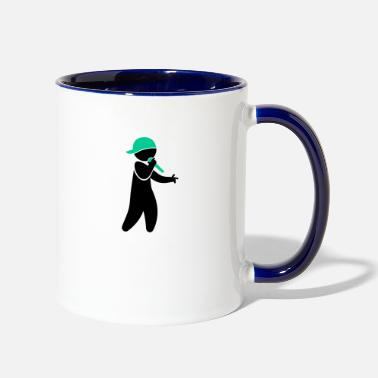 Rapper Hiphop Rapper - Contrast Coffee Mug