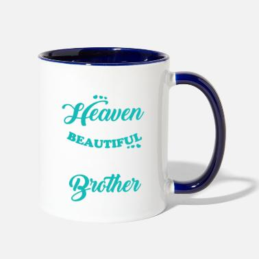 Angel My Brother In Heaven T Shirt - Two-Tone Mug