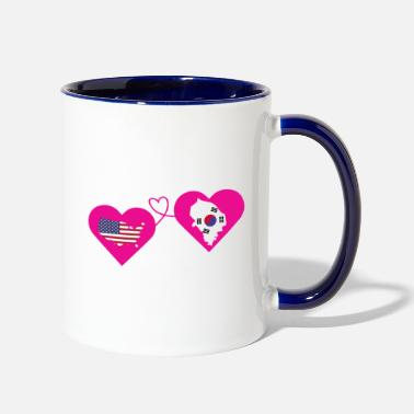 Personalized Father Daughter The Love Between Father And Daughter T Shirt - Two-Tone Mug