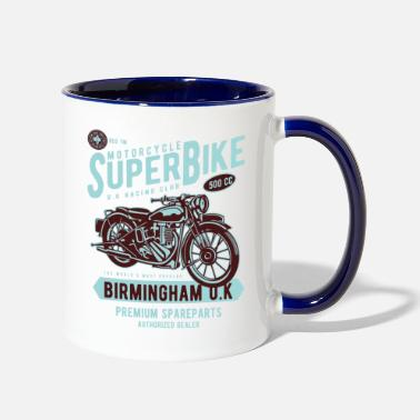 Super Bike Super Bike UK - Two-Tone Mug