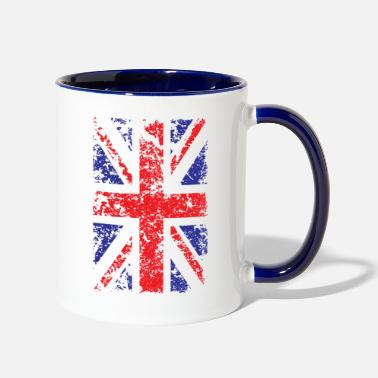 Union Jack Union Jack Vintage Flag United Kingdom Citizen - Two-Tone Mug