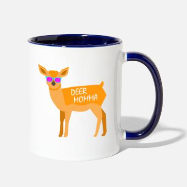 Dear Momma Mother's Day Beautiful Gift T-Shirt - Two-Tone Mug
