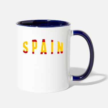 Worldcup Spain Worldcup Shirt - Two-Tone Mug