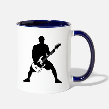 Bass Player bass player - Contrast Coffee Mug