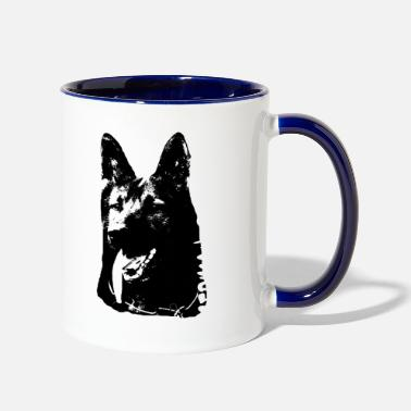 German Shepherd German Shepherd,Shepherd,Doglover, - Contrast Coffee Mug