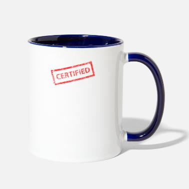 Postmark Stamps Stamp Stampscollecting Post Postmark Gift - Two-Tone Mug