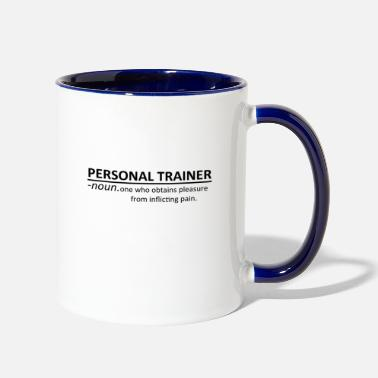 Workout Personal Trainer Shirt Workout Workout Noun Tee - Contrast Coffee Mug