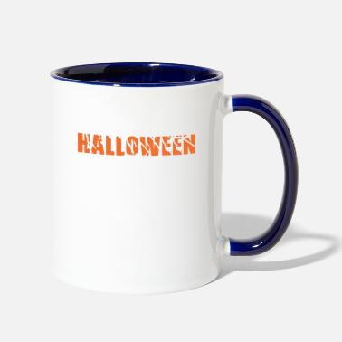 Ghost &amp HALLOWEEN: This Is My Halloween Costume - Two-Tone Mug