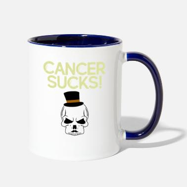 Cancer Sucks Cancer Sucks - Contrast Coffee Mug