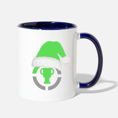 Game Theory Official Logo Santa Hat Edition Gifts - Contrast Coffee Mug