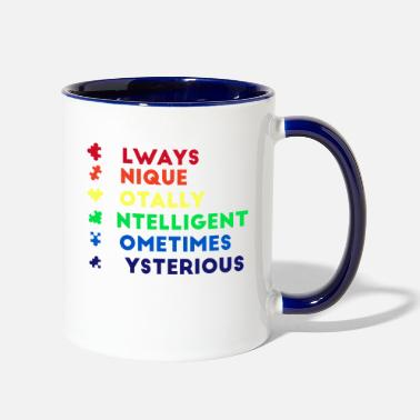 Acronym Autism Acronym Definition - Contrast Coffee Mug