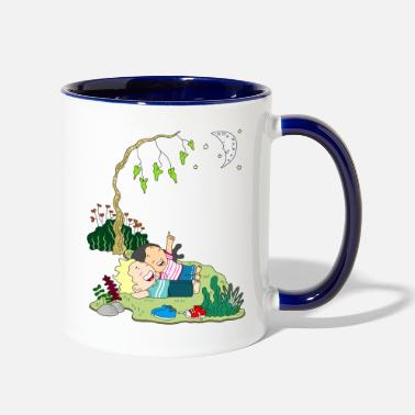 Childhood childhood - Two-Tone Mug