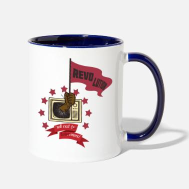 Television revolution will not be televised - Two-Tone Mug