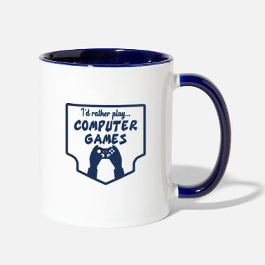 Pc PC Gamer PC Gamer PC Gamer PC Gamer - Two-Tone Mug