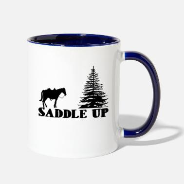 Saddle Saddle Up - Two-Tone Mug