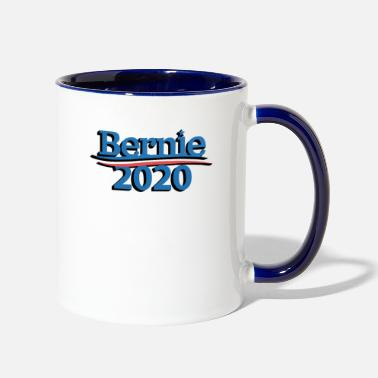 Pro Bernie 2020 - Pro Bernie T-Shirt - Democratic - Two-Tone Mug