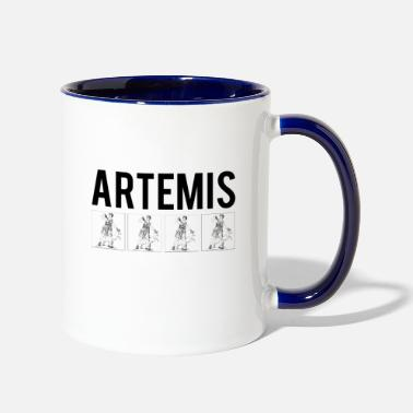 Mythology Artemis, Mythology - Two-Tone Mug