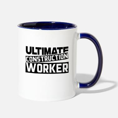 Construction Worker Construction Worker Construction Worker - Two-Tone Mug