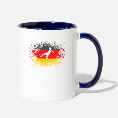 European Champion german flag soccer player european champion - Two-Tone Mug