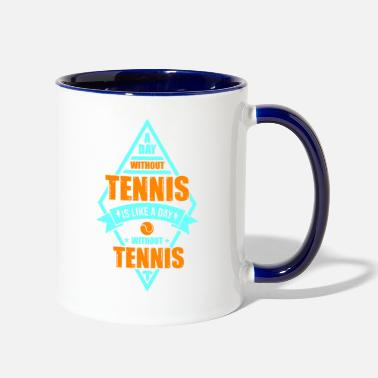 Prince Of Tennis tennis quote saying gift shirt - Two-Tone Mug