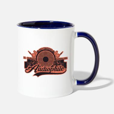 Hifi Audiophile Self Confessed Vintage Hifi Speaker - Two-Tone Mug