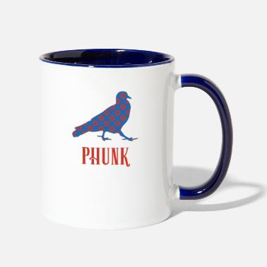 Pppp Phish PPPP - Pigeons Playing Ping Pong Fishman - Two-Tone Mug