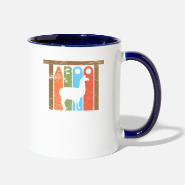 Phish Tote Phish Llama Taboot Phish Shirts and Apparel - Two-Tone Mug
