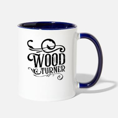 Turn Woodturning Turn Timber Wood Turning - Two-Tone Mug