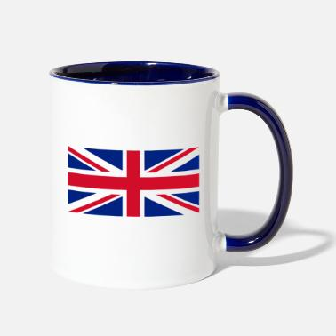 Uk UK flag - Two-Tone Mug
