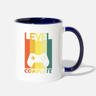 Level Complete template - Two-Tone Mug