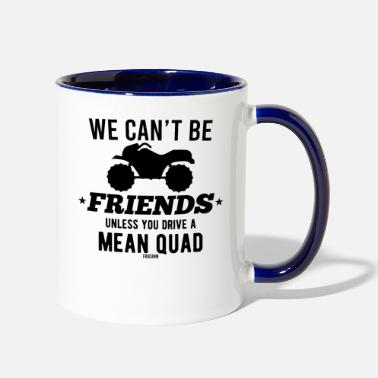 Quad Atv Offroad Quad ATV - Two-Tone Mug