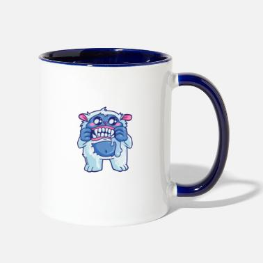 Yeti Life Is Better With A Yeti - Two-Tone Mug