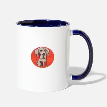 Life Is Too Short Without A Dog - Two-Tone Mug