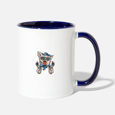 Chihuahua 3 Things - Two-Tone Mug